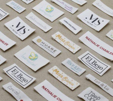 etiquetas algodón